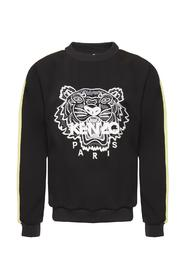 Tiger motif sweatshirt