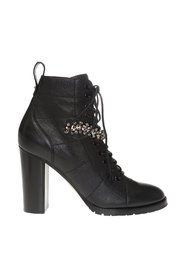 'Cruz' heeled ankle boots
