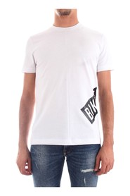 BIKKEMBERGS C40729AM3805 T-SHIRT Men WHITE