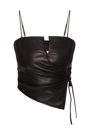 Top with adjustable straps
