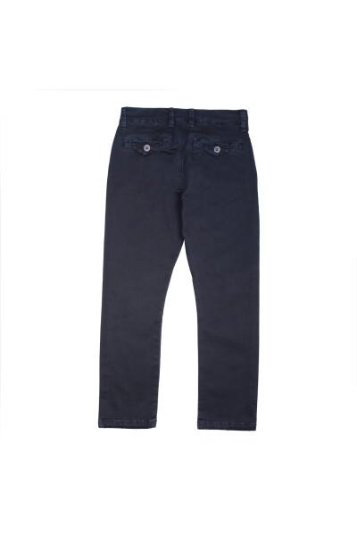 Blue Trousers Manuel Ritz Chinosy