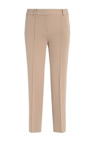 Camel crepe trousers