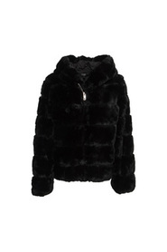 Zip faux-fur jacka