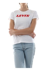 LEVIS 17369 THE PERFECT TEE T SHIRT AND TANK Women WHITE