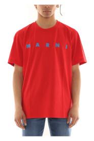 T-shirt z nadrukowanym logo