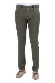TROUSERS MICRO PINCES WOOL