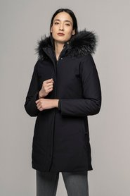 Akemi jacket with fur