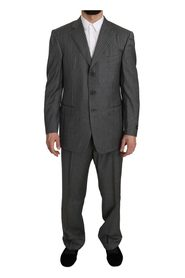 Wool Striped 2 Piece Suit