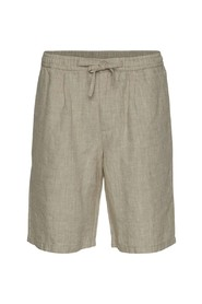 Birch loose linen shorts