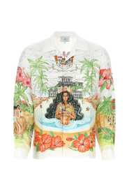 Shirt with Multicolor Print
