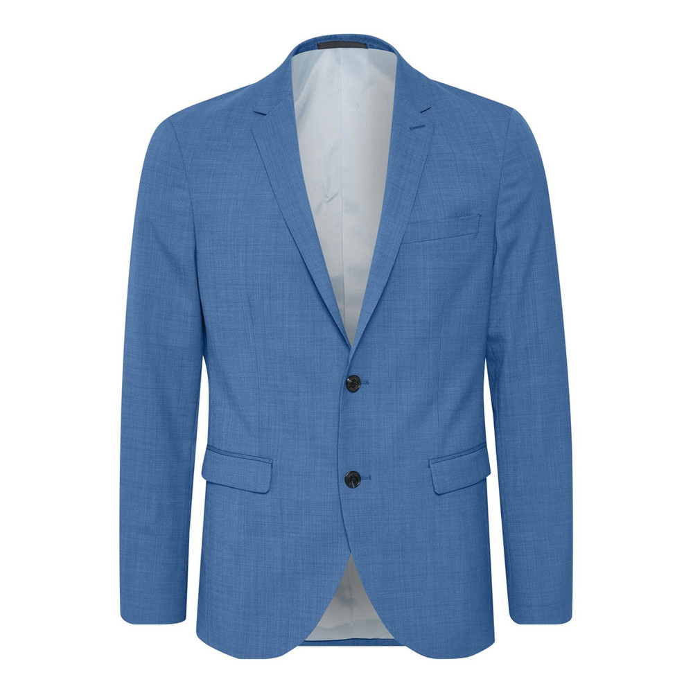 GEORGE F MID BLUE SUIT BLAZER