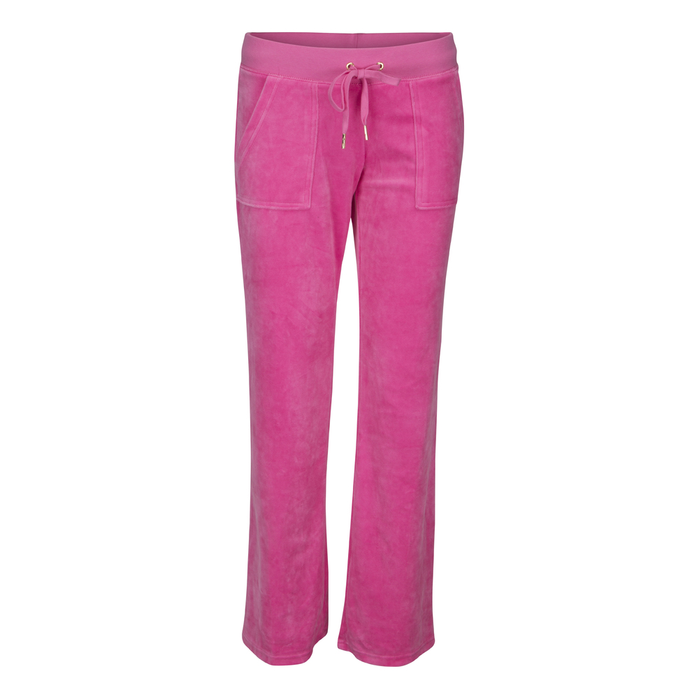 Juicy Couture J Bling DR Velour Mjukisbyxa Cerise rosa
