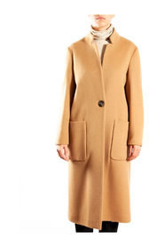 1 button coat with patch pockets