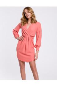 Sukienka z zakładkami K044