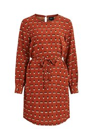 Long Sleeved dress Patterned