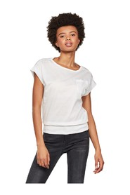 G-STAR D16277 C109 NOXER T SHIRT AND TANK Women WHITE