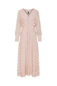Maxi dress V-neck striped