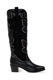 'Shelby' heeled knee-high boots