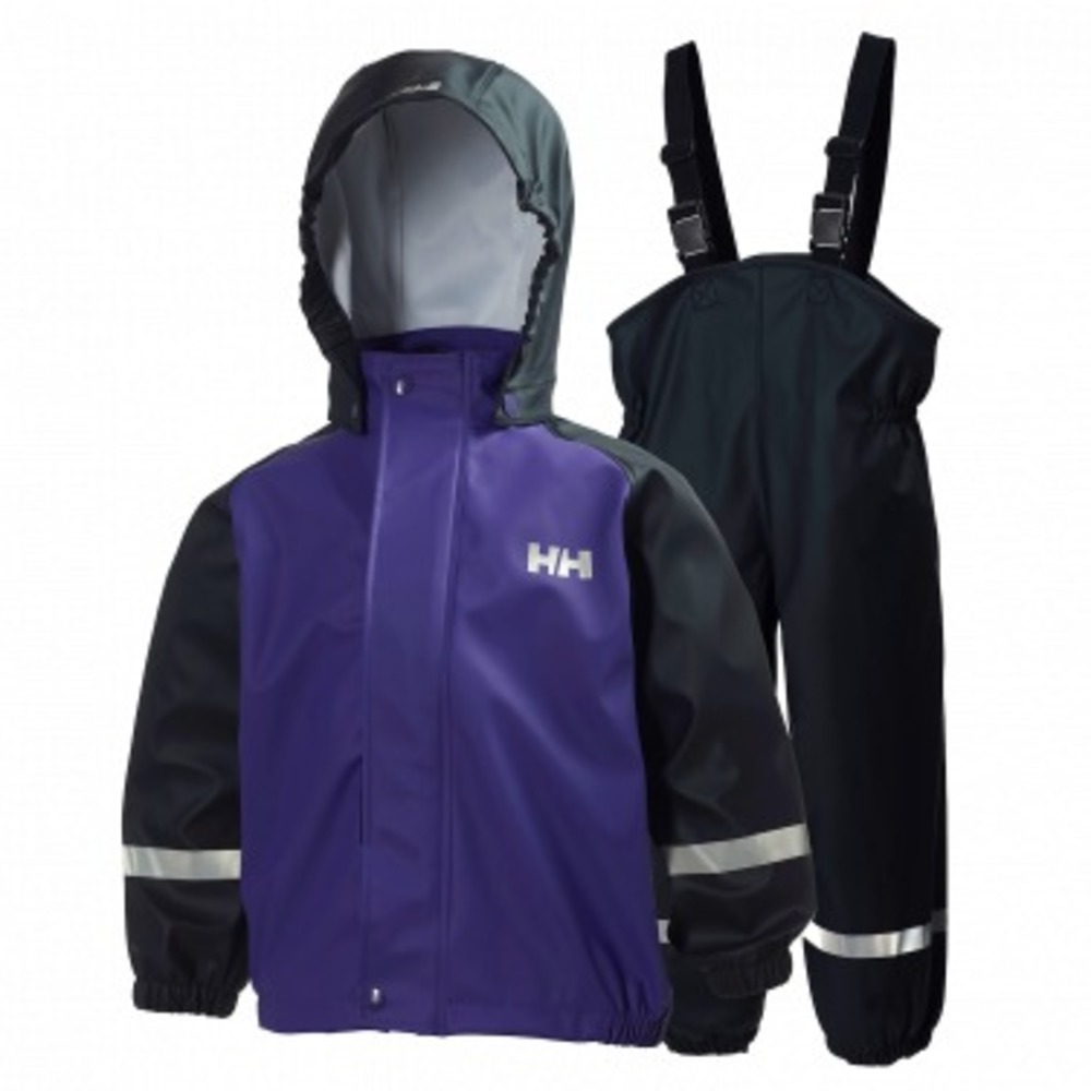 Helly Hansen K Voss Rainset Purple