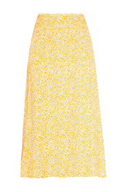 Floral motif skirt