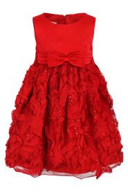 Rød Pascal penkjole