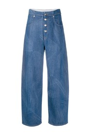 Tapered-leg Jeans