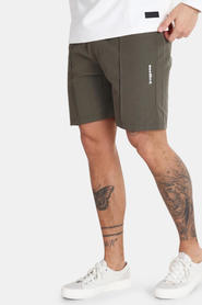 WoodBird Hansi Track Shorts Dusty Green