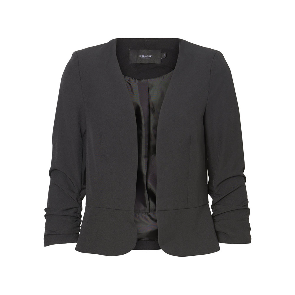 Blazer Open Front 3/4 Sleeved