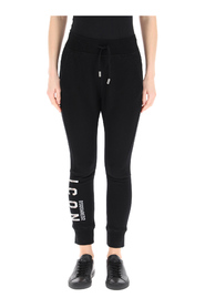 jogging trousers with icon reflect logo