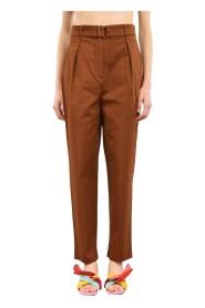 pantaloni con pinces modello tibet