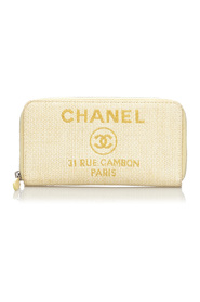 Deauville Long Straw Wallet
