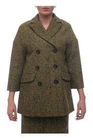 Long jacket with 3 buttons