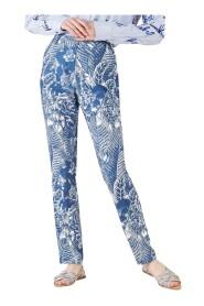 Pantaloni motivo floreale