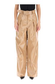 Trousers eco leather