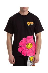 short sleeve t-shirt crew neckline