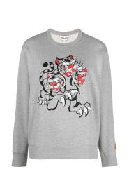Grey Cotton Sweatshirt
