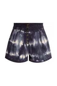 Ares high-waisted shorts