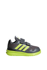 Adidas AltaRun CF Joggesko Barn Grey Five / Semi Solar Yellow / Core Black