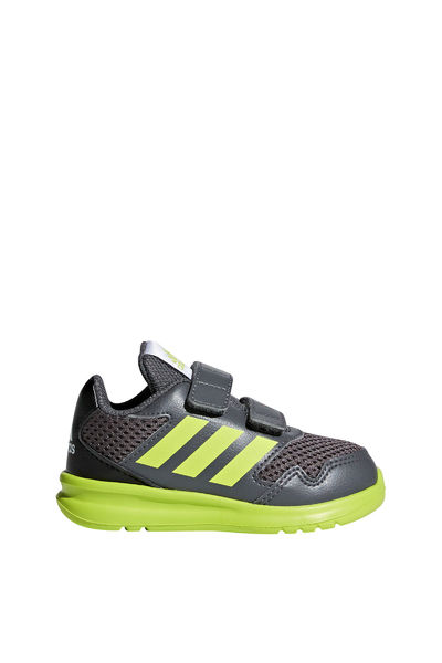 5b5871d4e Adidas AltaRun CF Joggesko Barn Grey Five / Semi Solar Yellow / Core Black