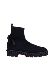 Short Boot Knit-Stretch