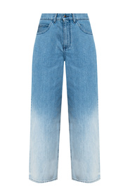 Jeans with ombre effect