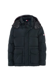Hooded Bomber Down Jacket