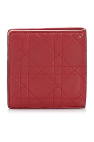 Cannage Leather Wallet