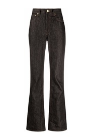 Nmes high-waisted jeans