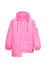 Pulled Parka In Bright