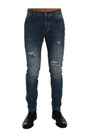 Wash Torn Dunfermile Slim Fit Jeans
