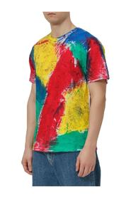 Multicolor Painted T-shirt