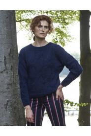 Sweter wełniany w warkocze