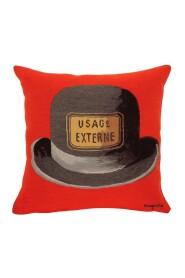 Le Bouchond d'épouvante - Magritte - Pude - 45x45cm