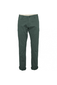 Grønn Knowledge Cotton Apparel Chuck the Brain chinos
